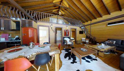 Baneva Ahşap Ürünleri Dubleks Villa 3D Model