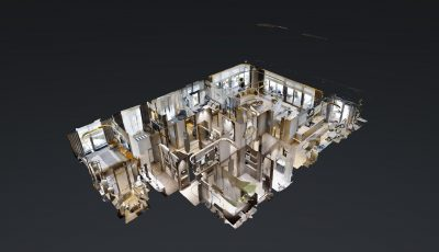 Yedi Mavi 3+1 Sample Apartment 3D Model