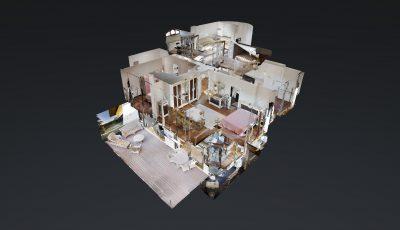 Pınar İnce Özer'den Kısıklıda Lüks Tribleks Villa 3D Model