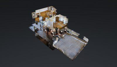 Pınar İnce / Koşuyolu Caddesinde Kiralık İşyeri 3D Model
