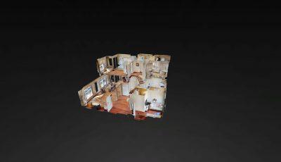 Kalamış Deniz Apt Lüks Dubleks Daire 3D Model
